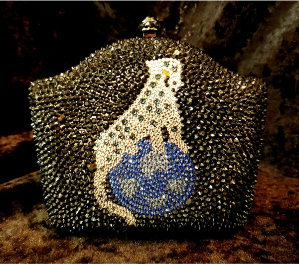 Coco Bont Abendtasche Blue Panther