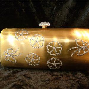 Coco Bont Abendtasche Golden Flower 2