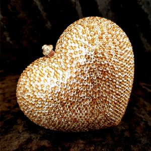 Coco Bont Abendtasche Heart of Gold1
