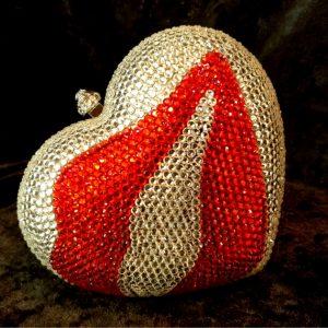 Coco Bont Abendtasche Kiss Heart