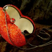 Coco Bont Abendtasche Red Heart 1