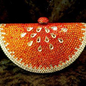 Coco Bont Abendtasche Red Melon